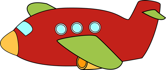 Red plane banner clipart image freeuse library Airplane Clip Art - Airplane Images image freeuse library