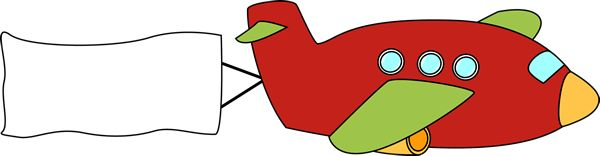 Red plane banner clipart picture library Plane clip art from mycutegraphics.com | Clip Art-Transportation ... picture library