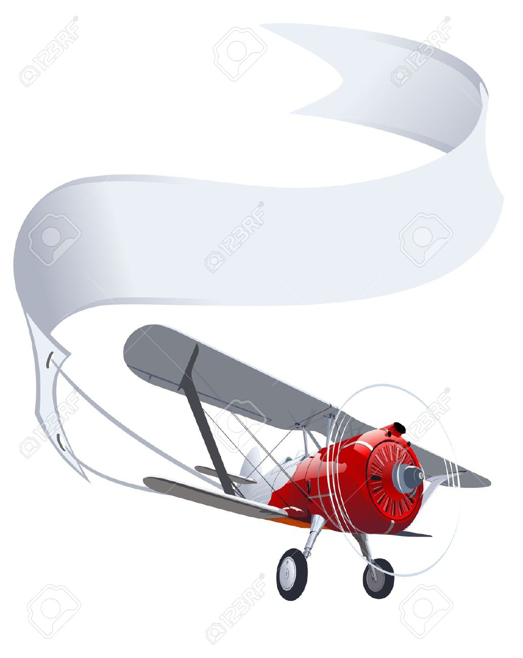 Red plane banner clipart free download Red plane banner clipart - ClipartFest free download