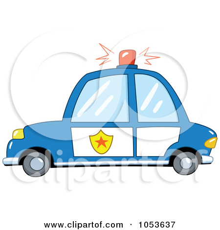 Red police car clipart clipart stock Clipart of a Cute Red Compact Car - Royalty Free Vector ... clipart stock