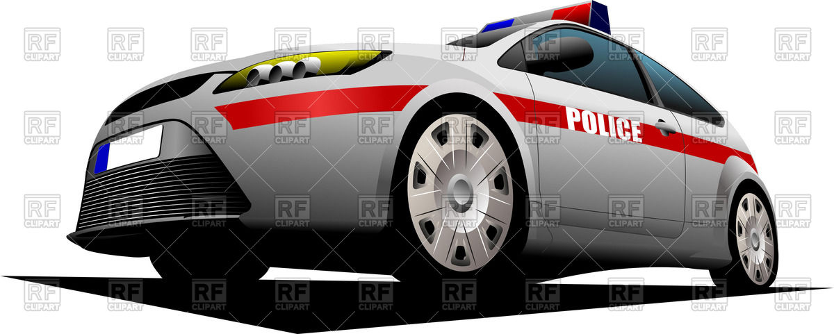 Red police car clipart banner Police car with red stripe, front view Vector Image #57064 – RFclipart banner