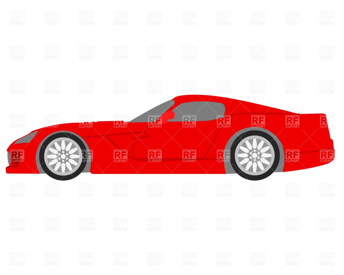 Red police car clipart vector freeuse download Red Car Side View Clipart - Clipart Kid vector freeuse download