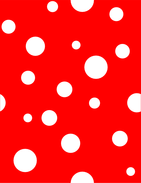 Red polka dot clipart graphic library Light Blue Polka Dots Clip Art at Clker.com - vector clip ... graphic library
