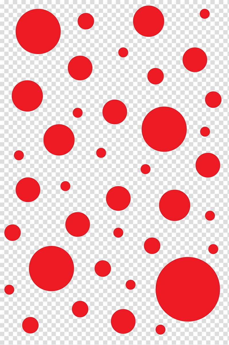 Red polka dots illustration, Polka dot T-shirt Red Designer ... clipart freeuse library