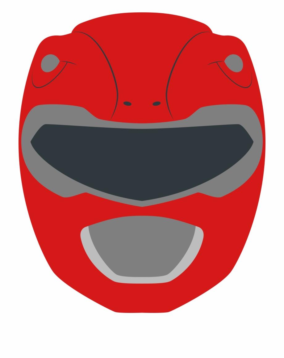 Power Rangers Clipart Helmet - Red Power Ranger Clipart Free ... clip art library library
