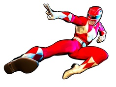 Power Ranger - Red Ranger | Clipart Panda - Free Clipart Images graphic black and white