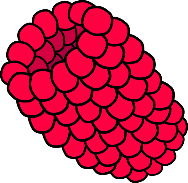 Red raspberry clipart svg library download Red Raspberry Clip Art at Clker.com - vector clip art online ... svg library download