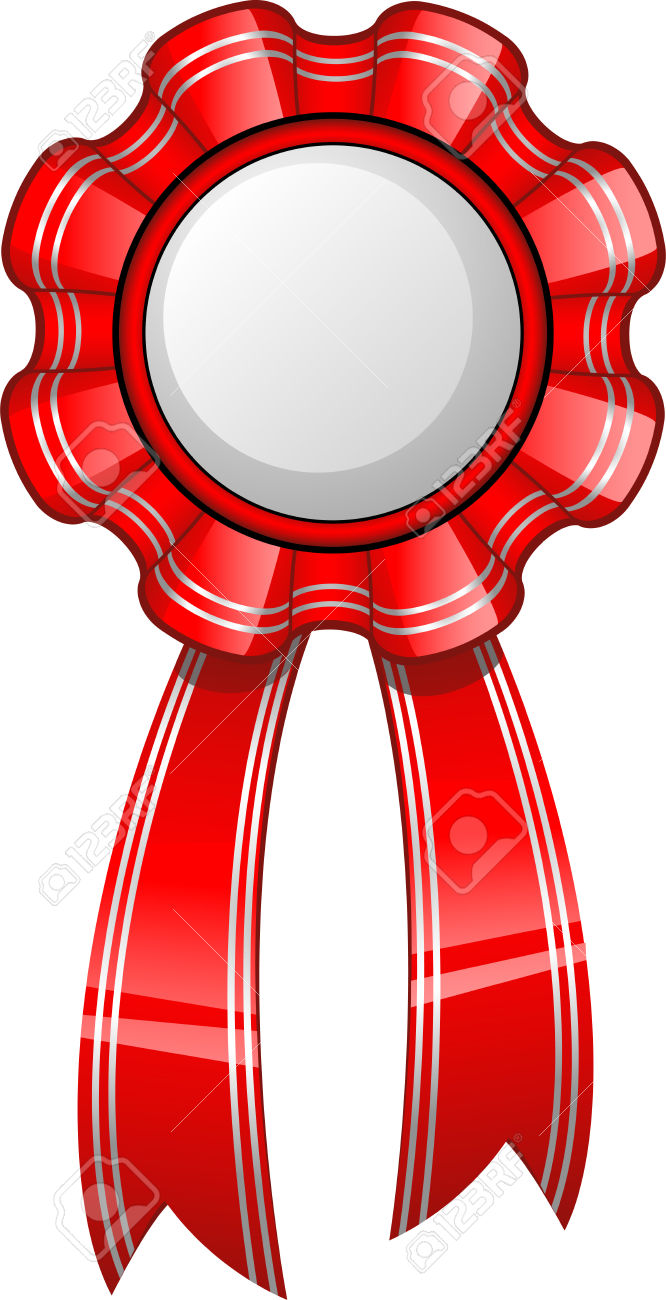 Red ribbon award clipart vector free download Red ribbon award clipart - ClipartFest vector free download