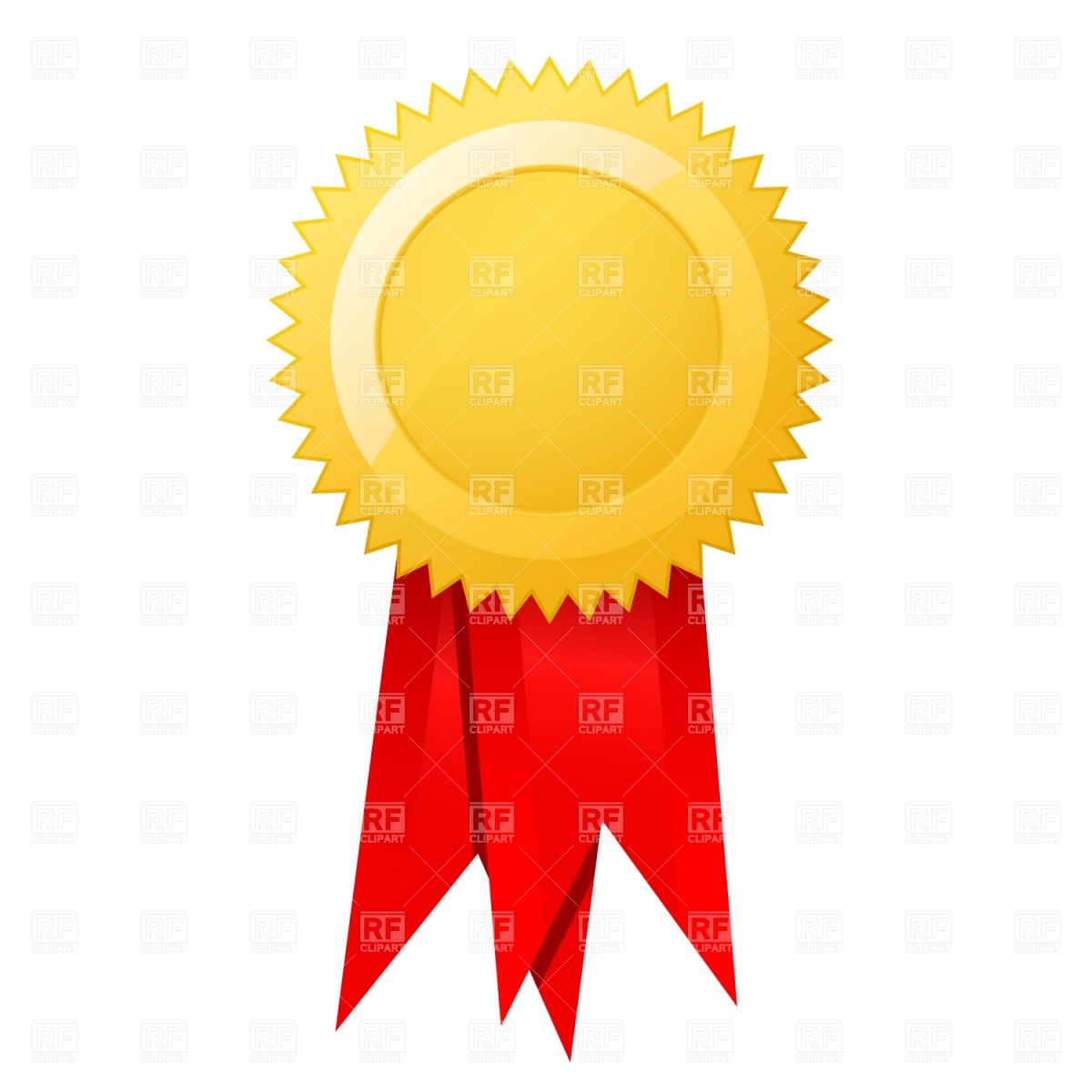 Red ribbon award clipart png royalty free library Certificate ribbons clipart - ClipartFest png royalty free library