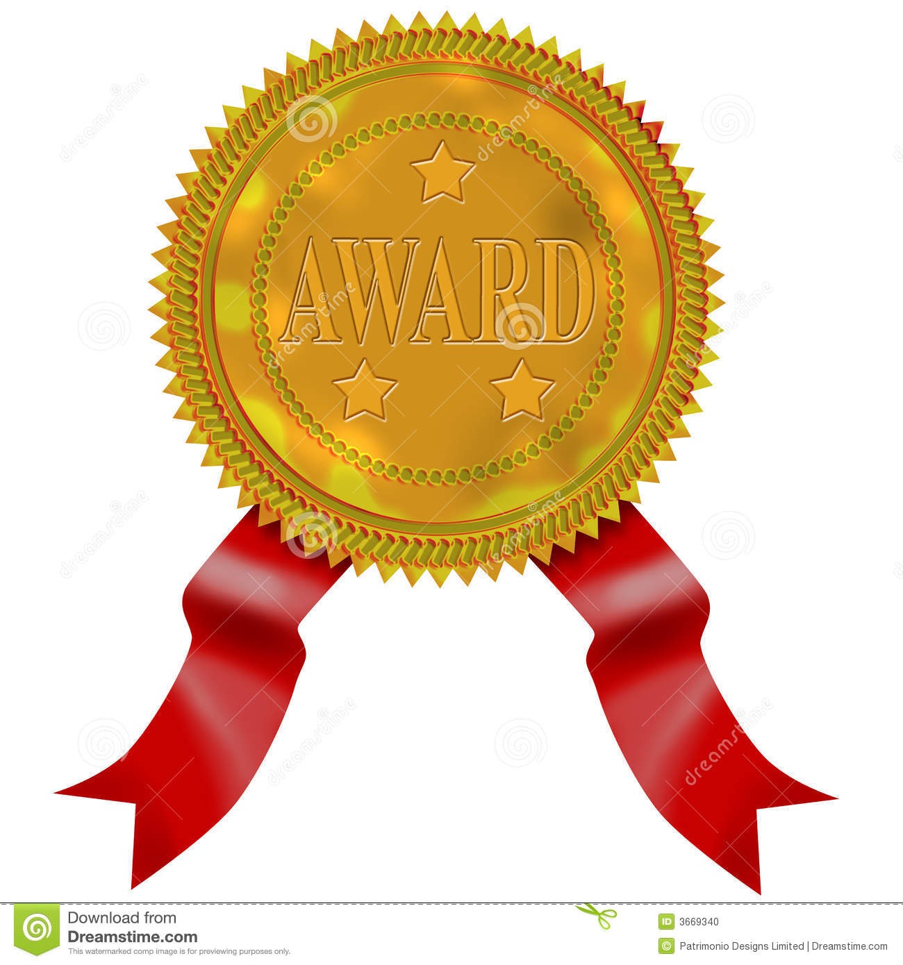 Red ribbon award clipart image transparent stock Winner Ribbon Clipart - Clipart Kid image transparent stock