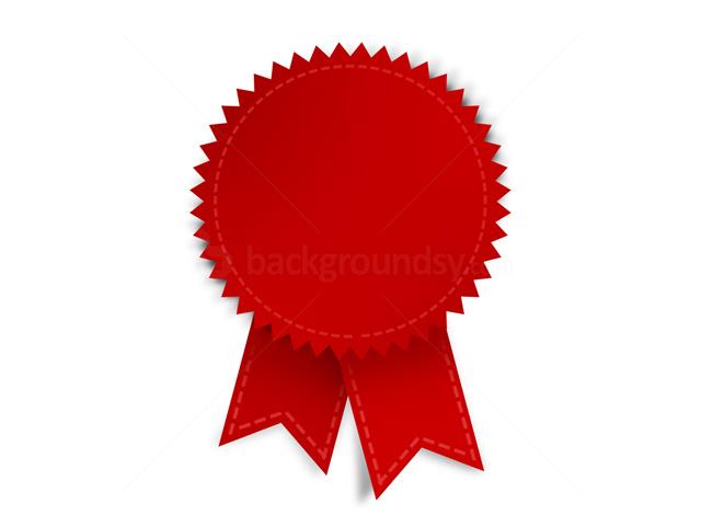 Red ribbon award clipart clip art royalty free download Red award ribbon (PSD)   Backgroundsy.com clip art royalty free download