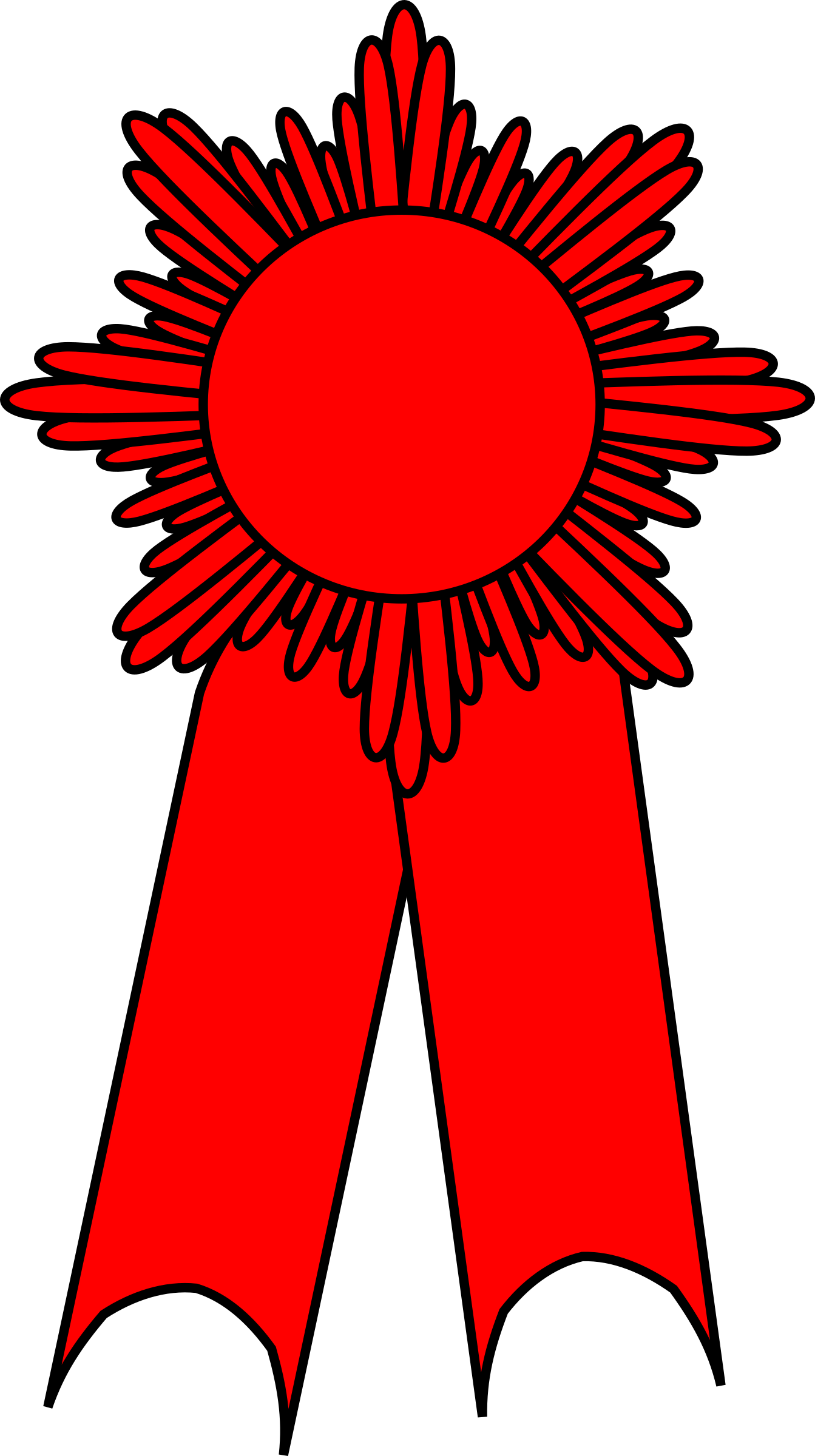 Red ribbon award clipart banner transparent stock Clipart - prize ribbon red banner transparent stock