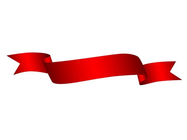 Red ribbons clipart graphic library library Red ribbon | MY LIKES | Ribbon shirt, Ribbon, Ribbon banner graphic library library