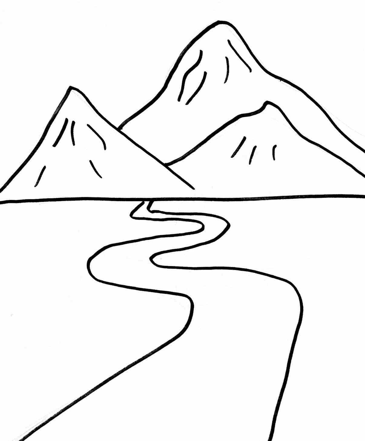 Red river valley clipart black and white banner transparent River Clipart Black And White | Free download best River ... banner transparent