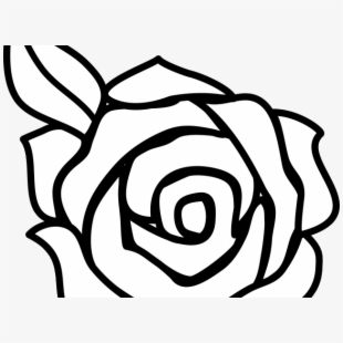 Red Rose Clipart Vine Drawing - Beginner Rose Drawing Easy ... jpg library
