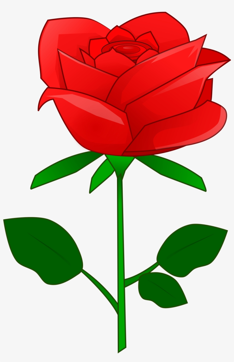 Red rose clipart image png freeuse Petal Clipart Red Rose - Red Rose Flower Clipart - Free ... png freeuse