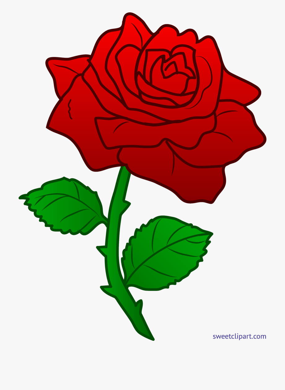 Red rose clipart image clip freeuse library Rose Red 3 Clip Art - Red Rose Clipart #1948744 - Free ... clip freeuse library