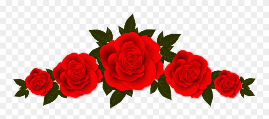 Roses Flowers Vignette &183 Free Image On Pixabay - Red Rose ... clip black and white