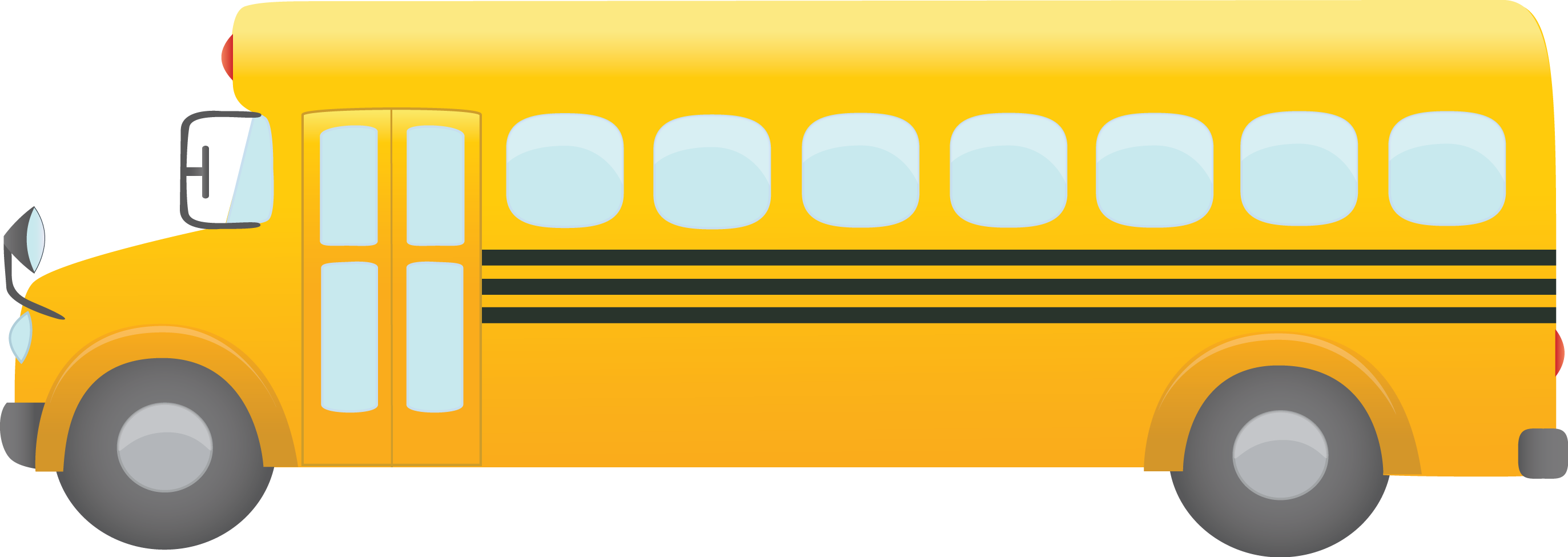 School bus clipart free clip royalty free library Bus Transparent PNG Pictures - Free Icons and PNG Backgrounds clip royalty free library