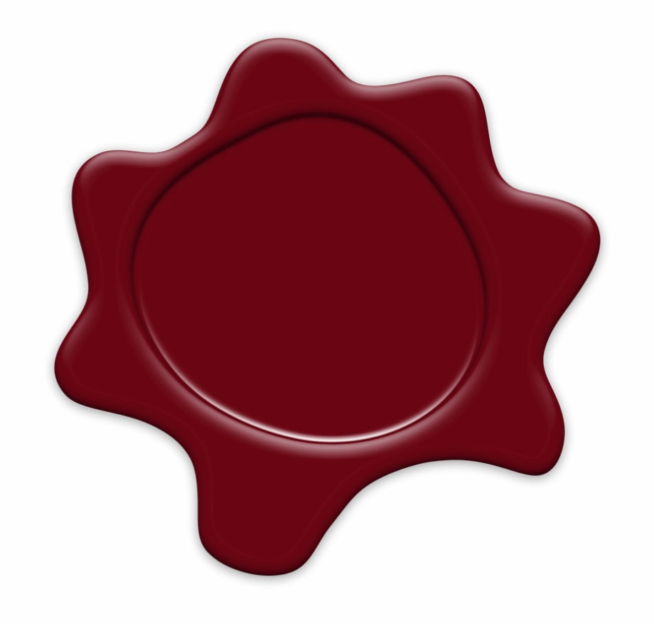 Red seal clipart graphic library Seal Wax Red - Seal Free PNG Images & Clipart Download ... graphic library