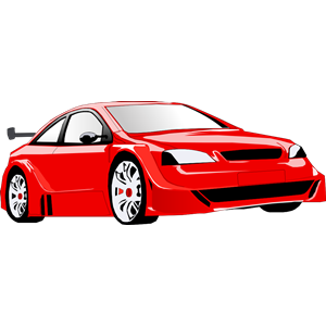 Red sports car car clipart vector black and white library Speedy car clipart - ClipartFest vector black and white library