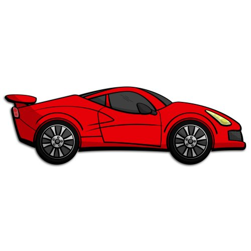Red sports car car clipart free Red sports car car clipart - ClipartFest free