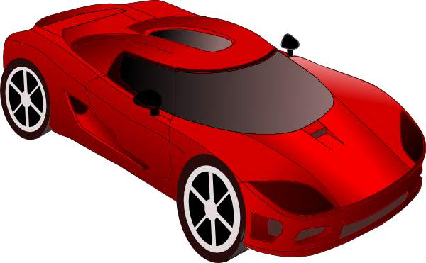 Red sports car car clipart image black and white library Sports Car Clipart & Sports Car Clip Art Images - ClipartALL.com image black and white library