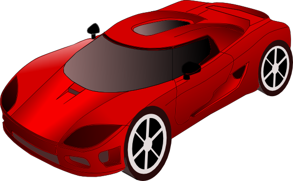 Red sports car car clipart clip black and white Sports Car Clipart & Sports Car Clip Art Images - ClipartALL.com clip black and white