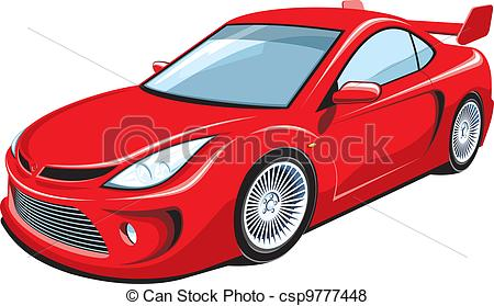 Red sports car car clipart jpg library library Red sports car car clipart - ClipartFest jpg library library
