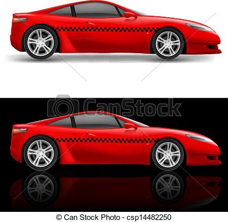 Red sports car car clipart clip transparent stock Red sports car car clipart - ClipartFest clip transparent stock