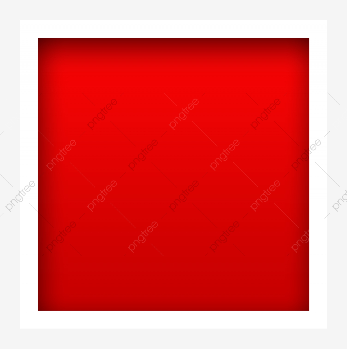 Red Square Frame Image, Png, Texture, Color PNG Transparent ... graphic
