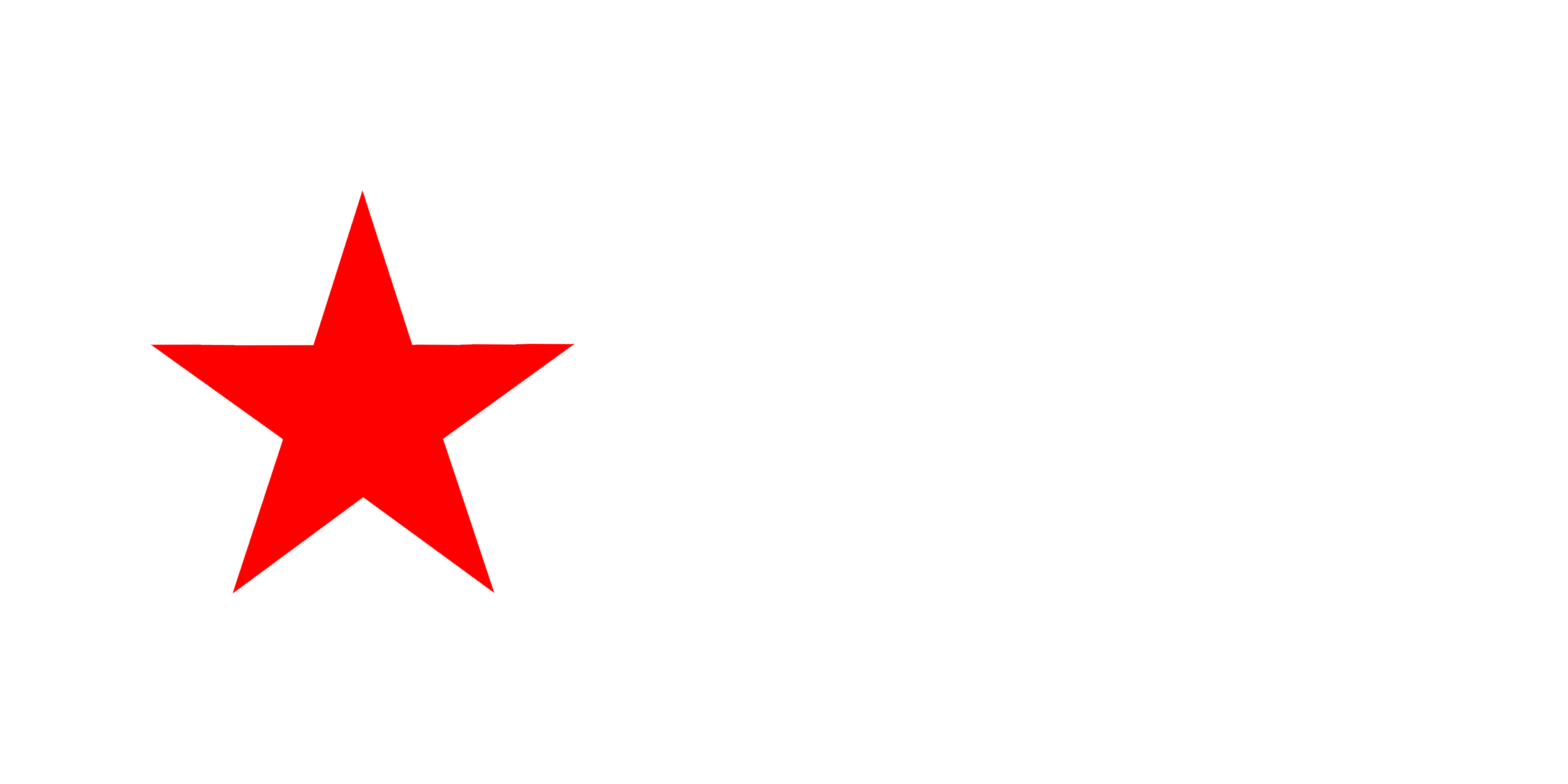 Star clipart face clipart download File:Red Star Flag.png - Wikipedia clipart download