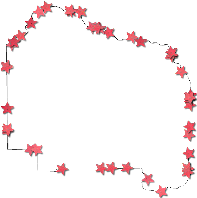Red star frame clipart png free stock Alachua