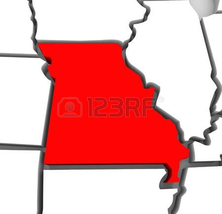 Red state map clipart image stock 1,907 Missouri Stock Vector Illustration And Royalty Free Missouri ... image stock