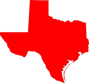 Red state map clipart png download Texas map clipart - ClipartFest png download