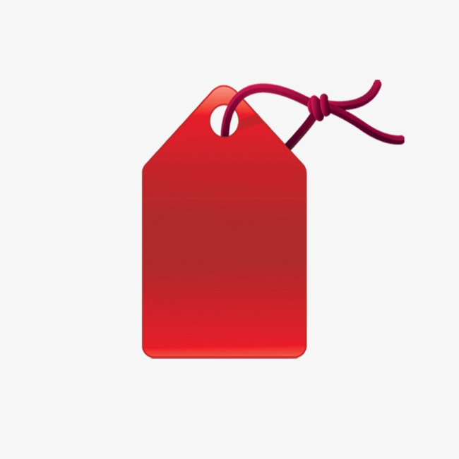 Red Tag Png - Clip Art Library png download