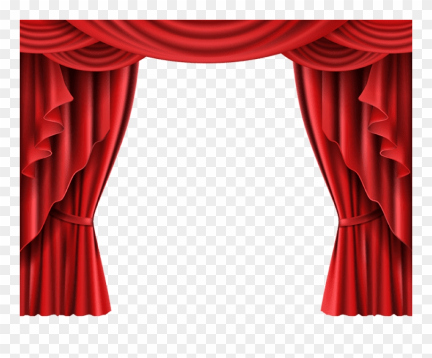 Red theater curtain clipart clipart library stock Download Red Theater Curtain Transparent Clipart Png - Stage ... clipart library stock
