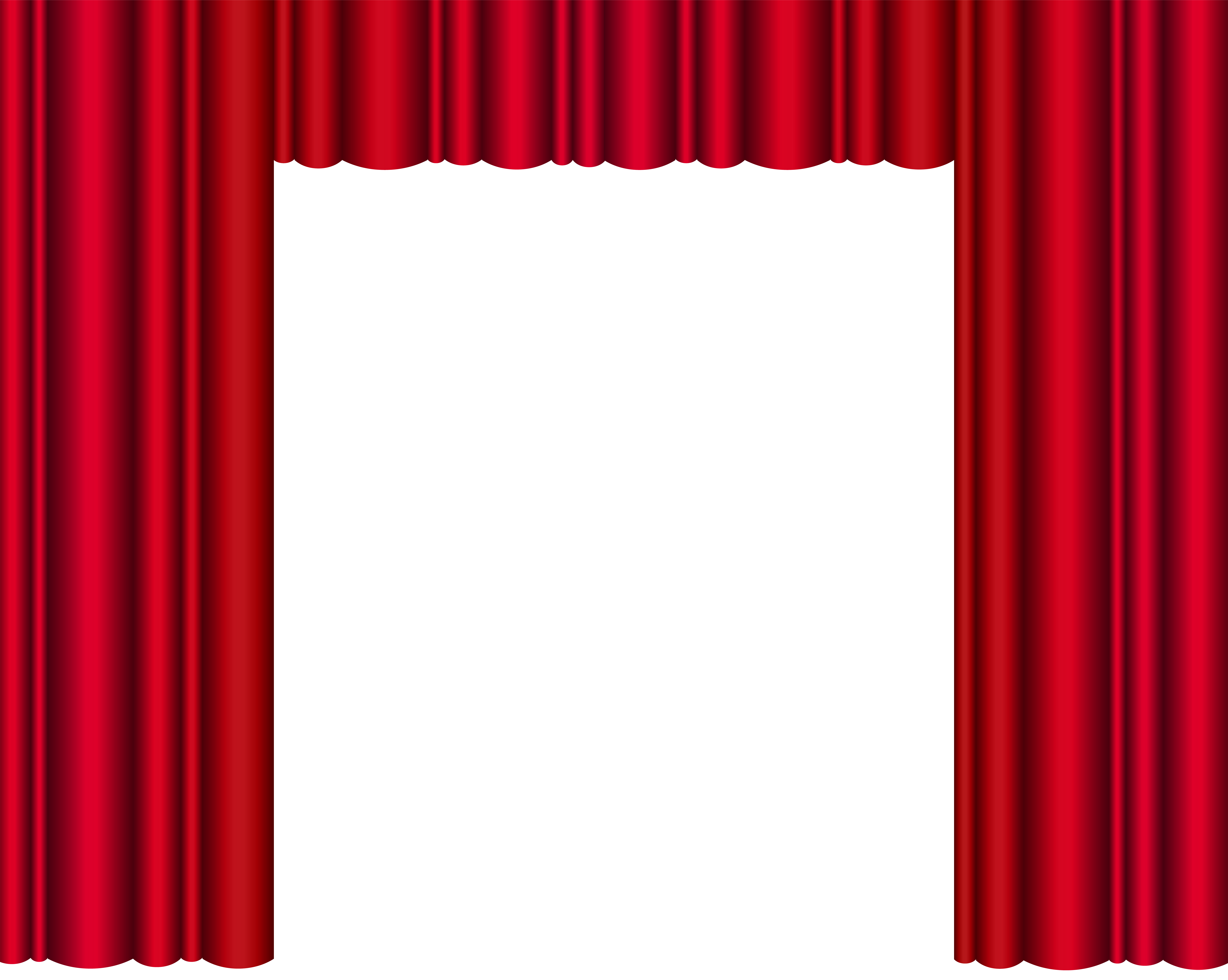 Red theater curtain clipart banner freeuse Red Theater Curtains Transparent PNG Clip Art Image ... banner freeuse