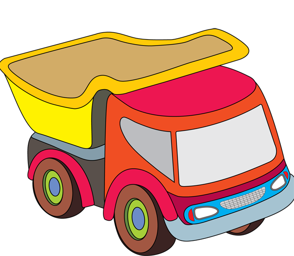 Red truck with tree clipart clip free download Trucks Clip Art Frame Clip Art | Clipart Panda - Free Clipart Images clip free download