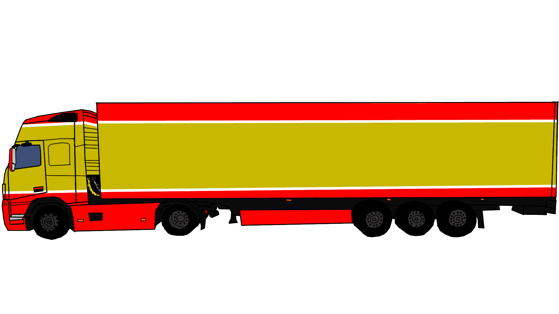 Truck with tree clipart graphic transparent download Peterbilt Clipart at GetDrawings.com | Free for personal use ... graphic transparent download