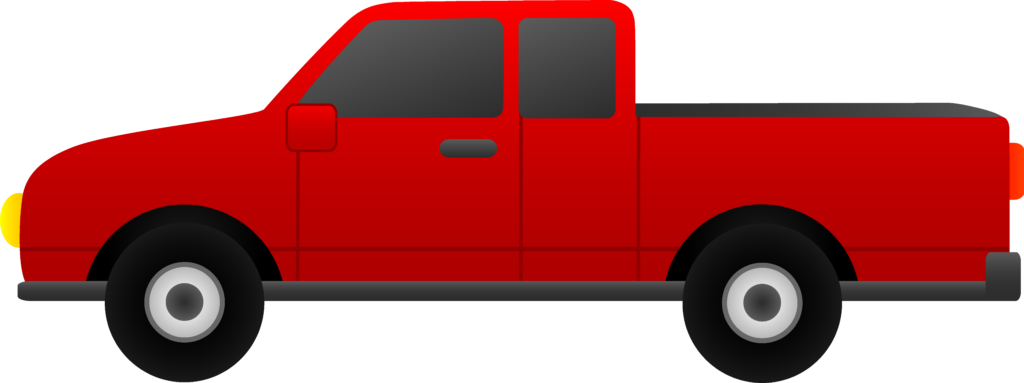 Red truck with tree clipart image freeuse Collection Of 70 Truck Clipart Images - Free Clipart Graphics, Icons ... image freeuse