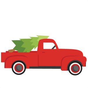 Old truck with christmas tree in back clipart png svg black and white stock Freebie of the Day! Christmas Tree With Truck Model/SKU ... svg black and white stock