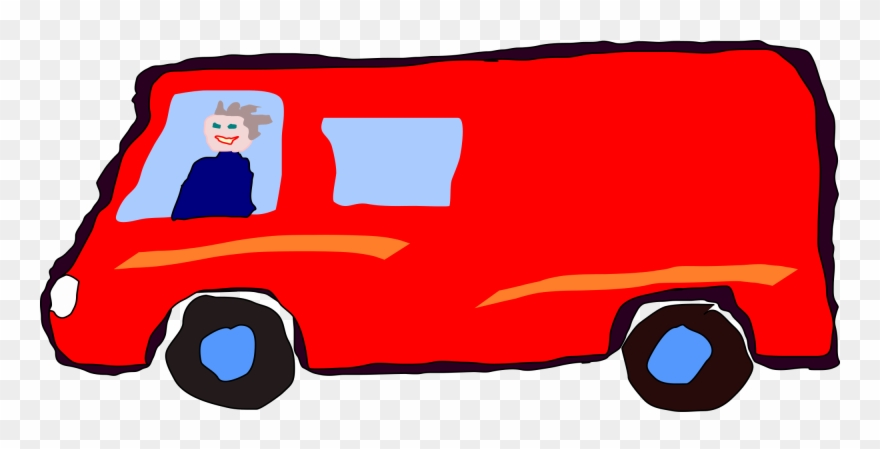 Red van clipart svg library stock File - Redvanman - Svg - Man In A Red Van Clipart (#1298142 ... svg library stock