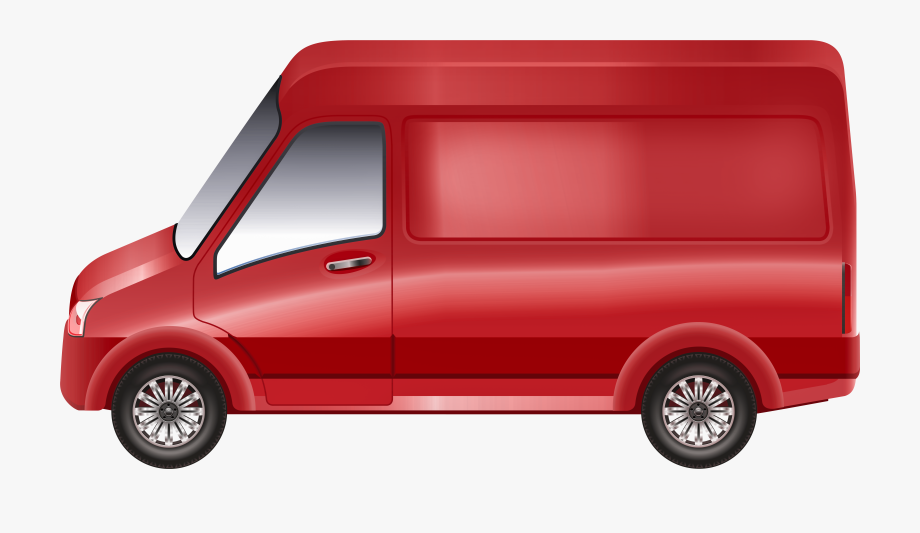 Red van clipart image black and white Red Van Png Clip Art - Red Van Clipart #369424 - Free ... image black and white