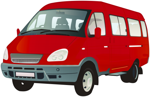 Red van clipart image black and white library Passenger Van PNG Clip Art - Best WEB Clipart image black and white library