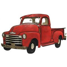 Red vintage ford truck clipart with tree svg library download Free Vintage Trucks Cliparts, Download Free Clip Art, Free ... svg library download