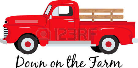 Red vintage ford truck clipart with tree transparent download Old Truck Cliparts | Free download best Old Truck Cliparts ... transparent download