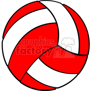 Red volleyball clipart jpg black and white download sports equipment red white volleyball clipart. Royalty-free clipart # 398122 jpg black and white download