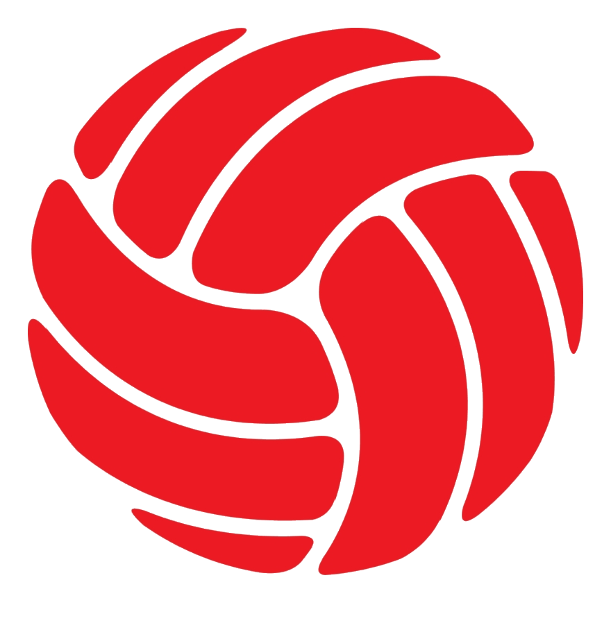 Red volleyball clipart picture free download Volleyball Volleyball- Red Rgb Ymca Clipart Transparent Png ... picture free download