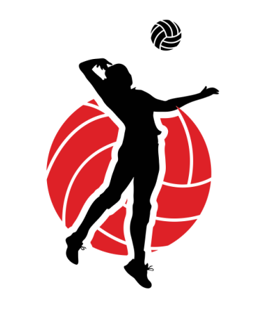 Red volleyball clipart jpg free stock Volleyball Clipart clipart - Volleyball, Silhouette, Red ... jpg free stock